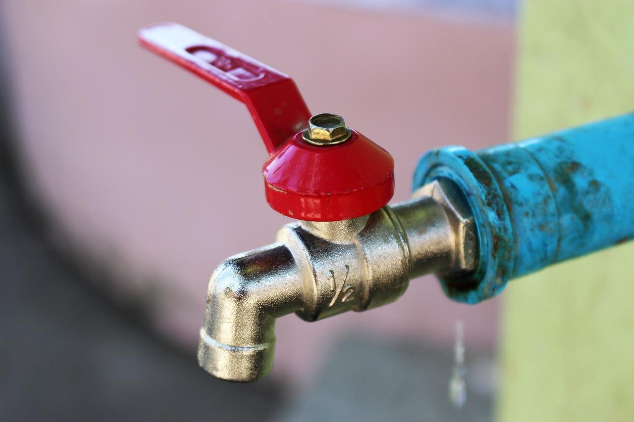 valve d'arrêt d'eau courante